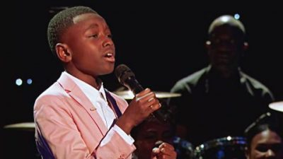 12-Year-Old Gospel Singer's Sensational Performance Will Bring You To Your Knees
