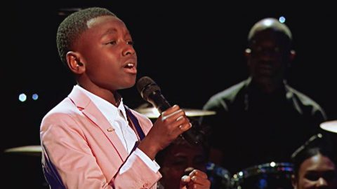 12-Year-Old Gospel Singer's Sensational Performance Will Bring You To Your Knees | I Love Being Christian Videos