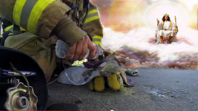 God Sends In Firefighter To Save Dying Kitty's Little Life (SO BEAUTIFUL!)