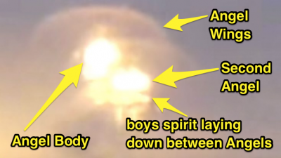 Watch These Angels Carry Kid's Soul Away (Caught On Camera)