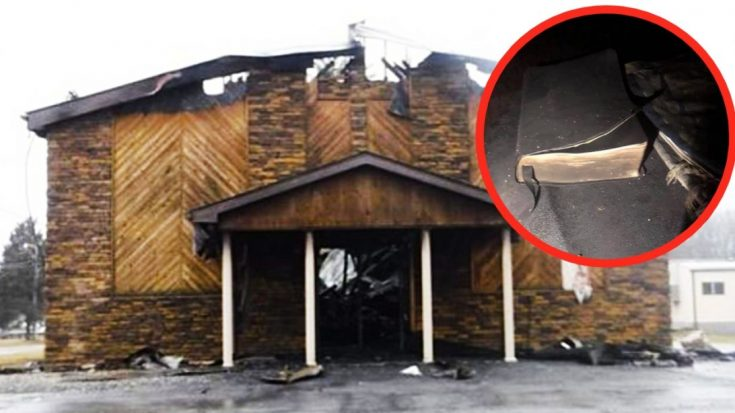 Church Fire Reaches More Than 970 Degrees – But Doesn't Burn A Single Bible | I Love Being Christian Videos