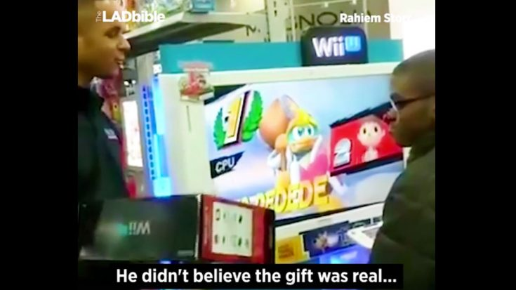 When A Young Man Can't Afford A WiiU, Best Buy Employees Buy One For Him | I Love Being Christian Videos
