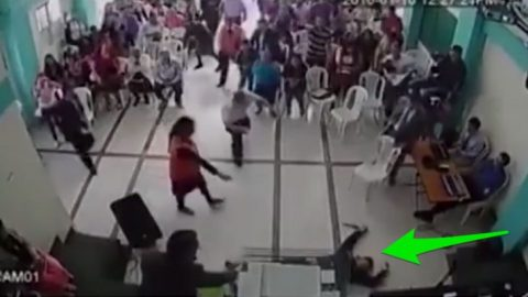 Man Tries To Kill Pastor – Holy Spirit Stops It (Caught On Camera) (VIDEO) | I Love Being Christian Videos