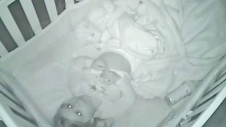 When They Lay Baby Down To Sleep And Step Out She Get's Caught On Camera Praying To God | I Love Being Christian Videos