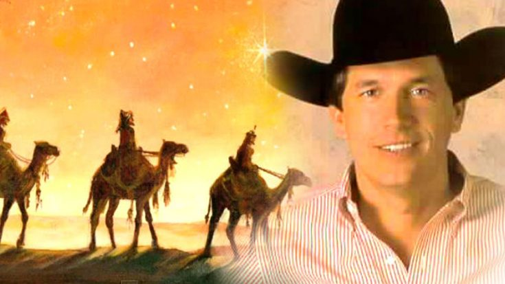"""""""We Three Kings"""" Sung By George Strait Will Have Y'all Singing Right Along   I Love Being Christian Videos"""