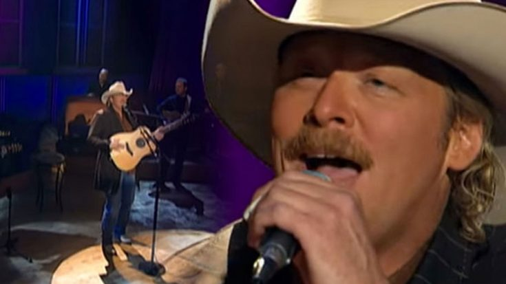 """Alan Jackson's """"Are You Washed In The Blood & I'll Fly Away"""" Rendition Is Just Magical 