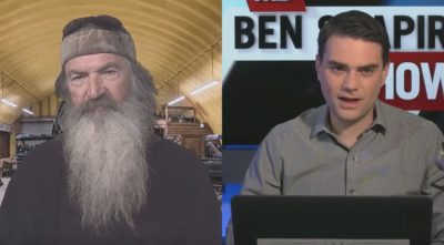 Phil Robertson and Ben Shapiro Talk About God and the Media (VIDEO)