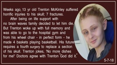 Boy Who Proves Miracles Still Happen – Dead For Fifteen Minutes- He Saw Heaven And Came Back