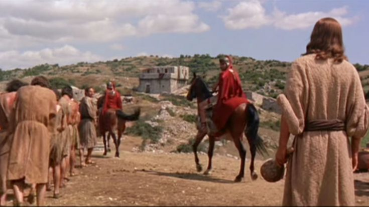 Powerful 1959 Movie Scene of Jesus Christ (Our Living Water: Ben-Hur Movie)   I Love Being Christian Videos