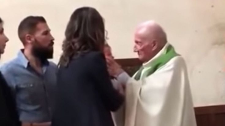 Unbelievable Video of Priest Attacking Baby   I Love Being Christian Videos