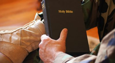 Air Force Base Replaces Bible With Generic 'Book Of Faith'