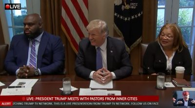 President Trump Meets with Pastors From Inner Cities at the White House