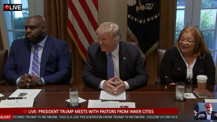 President Trump Meets with Pastors From Inner Cities at the White House | I Love Being Christian Videos