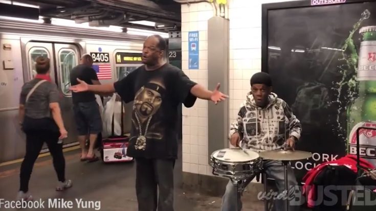 Amazing Subway Singer – You Have to Hear to Believe | I Love Being Christian Videos