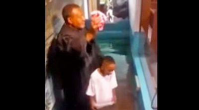 See What This Boy Does When the Pastor Takes Too Long to Baptize Him!