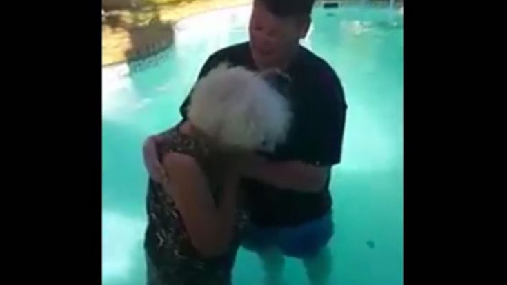 When 78yr Old Woman Wants To Be Baptized And Her Legs Won't Cooperate, This Happens… | ILoveBeingChristian Videos