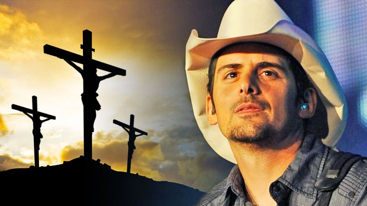 Brad Paisley Stuns Us With Singing The Old Rugged Cross