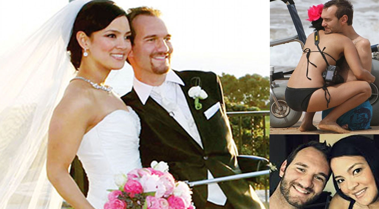 The Incredible Love Story of Nick Vujicic And His Wife   I