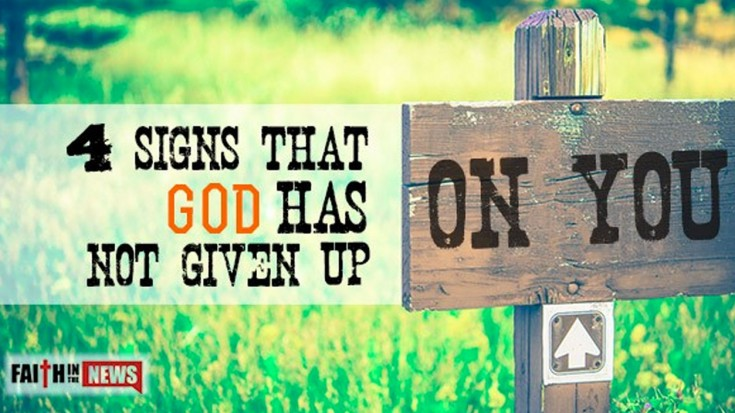 4 Signs That God Has NOT Given Up On You | I Love Being Christian Videos