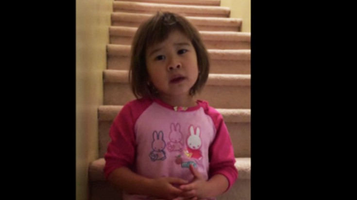 A 6-year-old Girl Gives Motivational Speech About Her Parents Getting Divorced (WATCH) | I Love Being Christian Videos