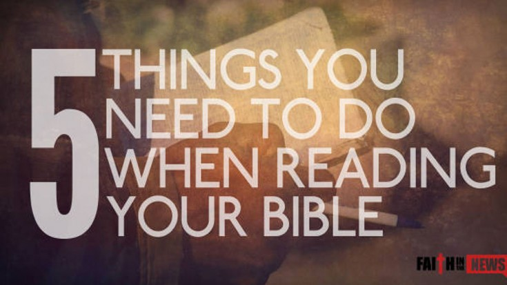5 Things You Need To Do When Reading Your Bible (MUST KNOW)   I Love Being Christian Videos
