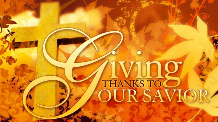"""""""Give Thanks To JESUS"""" (Thanksgiving Worship Playlist)   I Love Being Christian Videos"""
