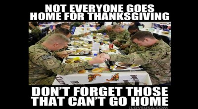 Military Contribute (Thanksgiving Video) We Thank You All!