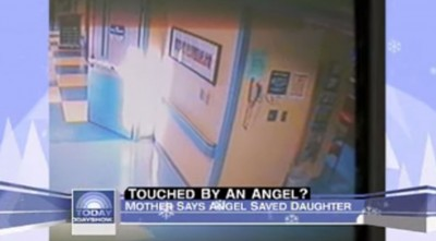 Angel Seen Saving Dying Daughter (Caught On Camera)