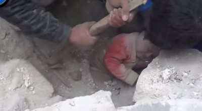 God Saves Baby Buried Alive Under Building (Miracle)