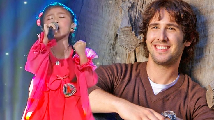 5-Year-Old Girl's Inspirational Performance Of 'You Raise Me Up' Will Bring You To Your Knees | I Love Being Christian Videos