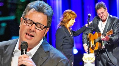 "Vince Gill Breaks Down In Tears During George Jones Tribute, Singing ""Go Rest High On That Mountain"""