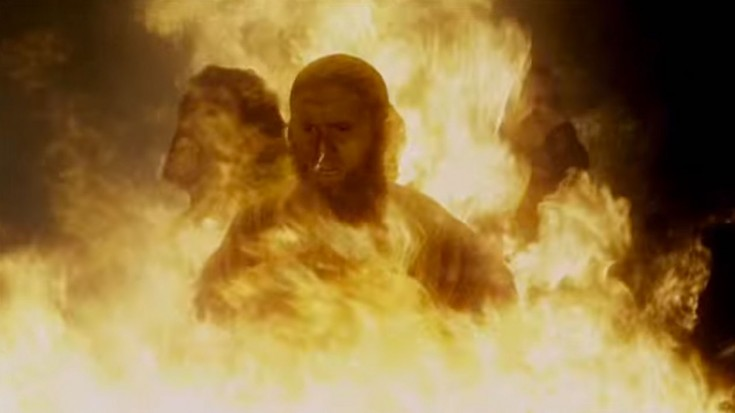 Jesus Saves Three Israelites From Burning In Fire (VIDEO) | I Love Being Christian Videos