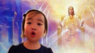 "Adorable Little Girl Sings ""Jesus Loves Me"""