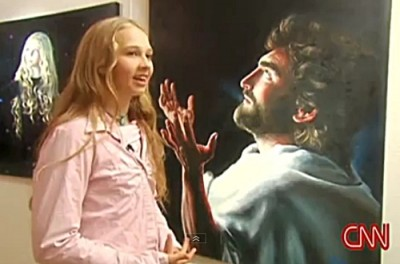 God Gives 12 Year Old Girl Visions – Now She Paints Pictures of Heaven, God & Jesus (Unbelievable!)