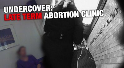 UNDERCOVER: Late-Term Abortion Clinics Exposed!
