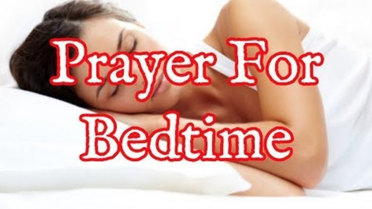 Prayer For Bedtime – Bedtime Prayer That Works | I Love Being Christian Videos