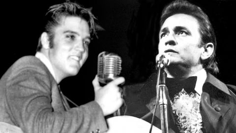 Elvis & Johnny Cash Team Up To Record Beloved Gospel Song From Their Childhood | I Love Being Christian Videos