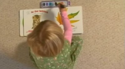 2 Year Old With The Ability to Paint Pictures of Heavenly things! (VIDEO)