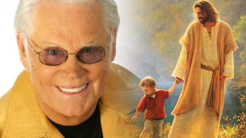 """Jesus Hold my Hand"" Performed by the Great George Jones 