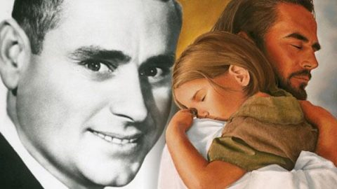 """""""Leaning On The Everlasting Arms"""" sung by George Jones 