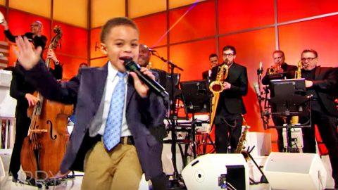 5-Year-Old Gospel Singer Steals Hearts With Heavenly 'This Little Light Of Mine'   I Love Being Christian Videos