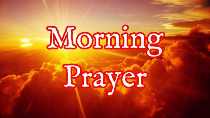 Starting Your Day Off Right With This MORNING PRAYER | I Love Being Christian Videos
