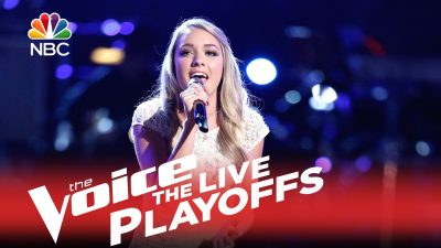 "Voice Contestant Saved After Her Heavenly Rendition of the Gospel Hymn, ""In the Garden"""
