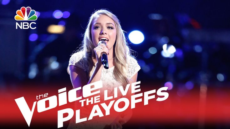 "Voice Contestant Saved After Her Heavenly Rendition of the Gospel Hymn, ""In the Garden"" 
